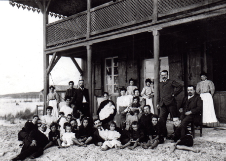 Famille Navarre 1907 St Girons