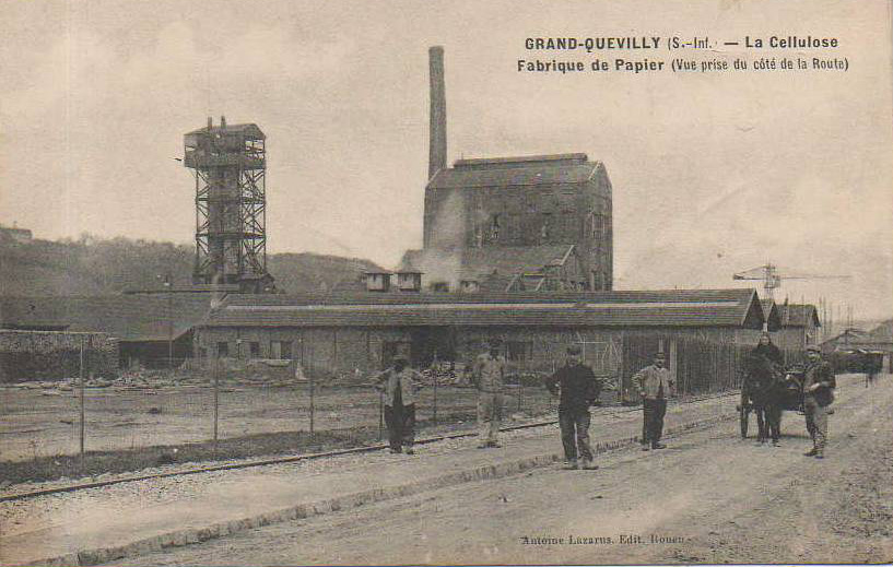 Usine Navarre Grand-Quevilly