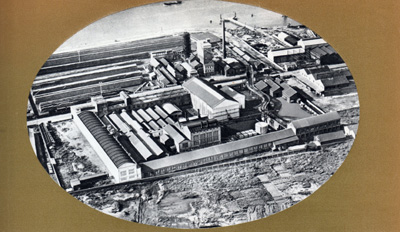 Usine Navarre Grand Quevilly 1955
